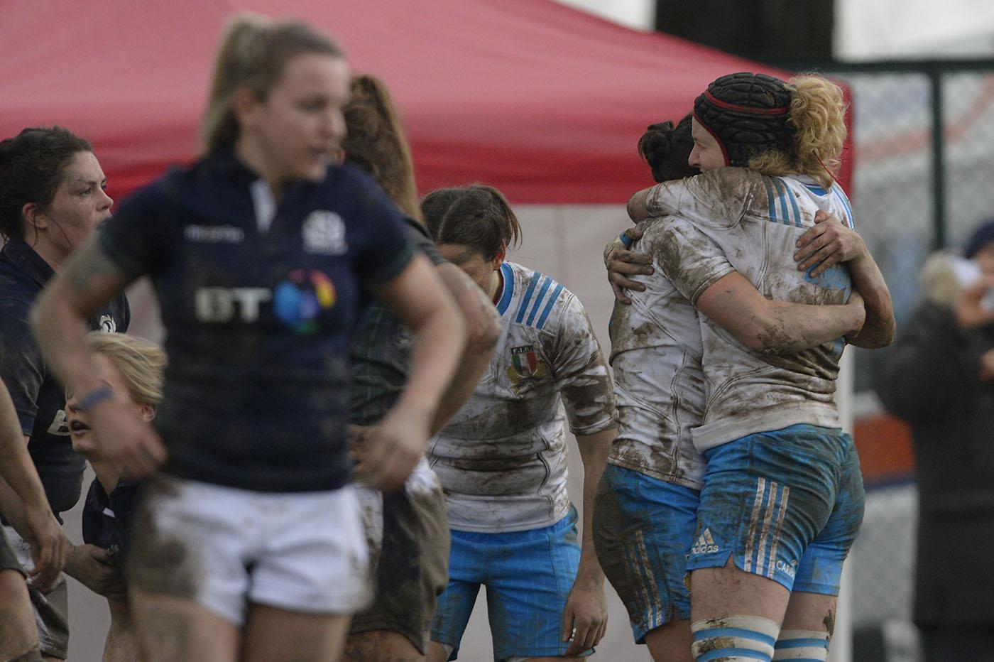 L'Italia femminile batte la Scozia nel Sei Nazioni 2016