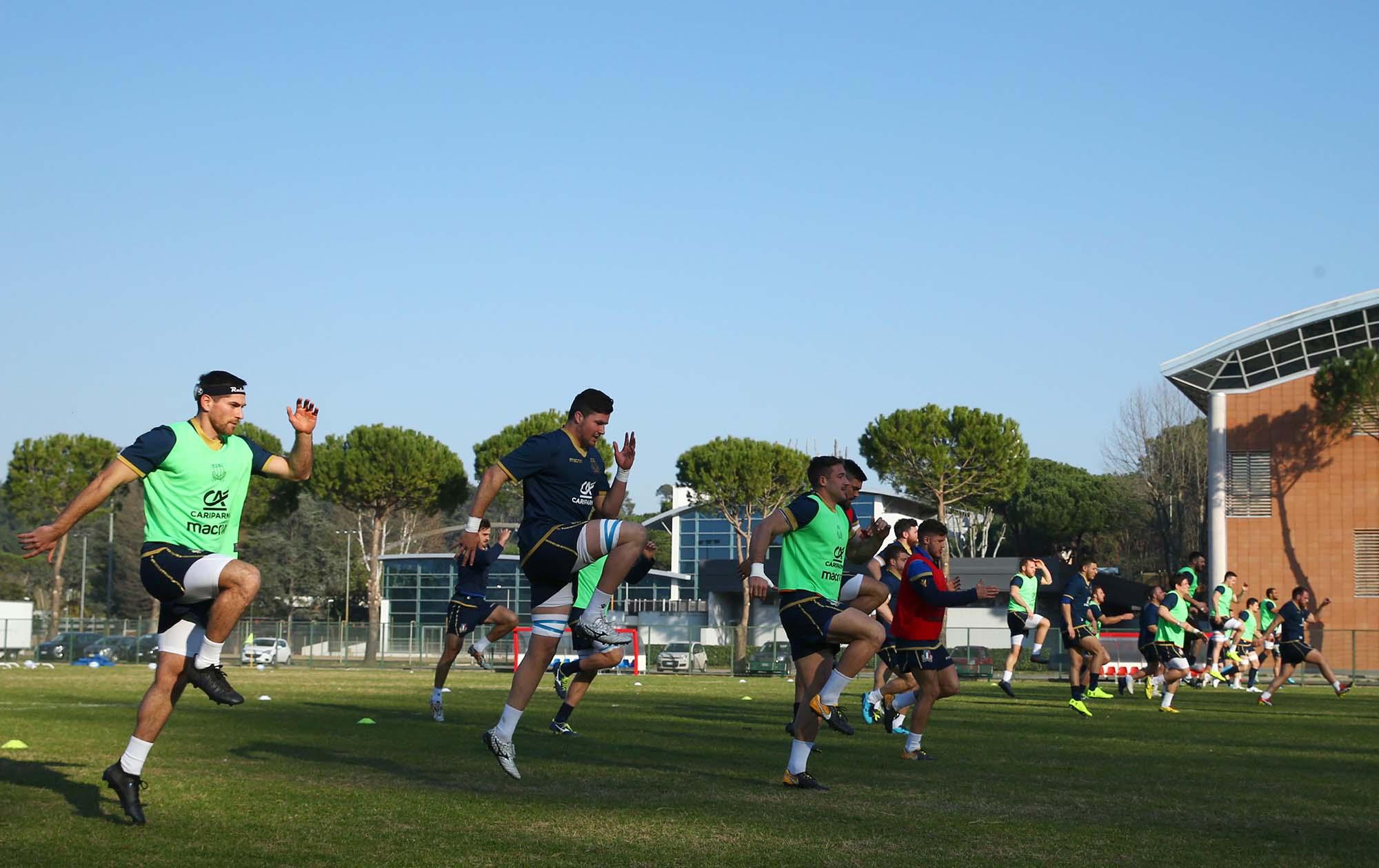 allenament italia gennaio2018