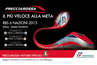 frecciarossa six nations 2013