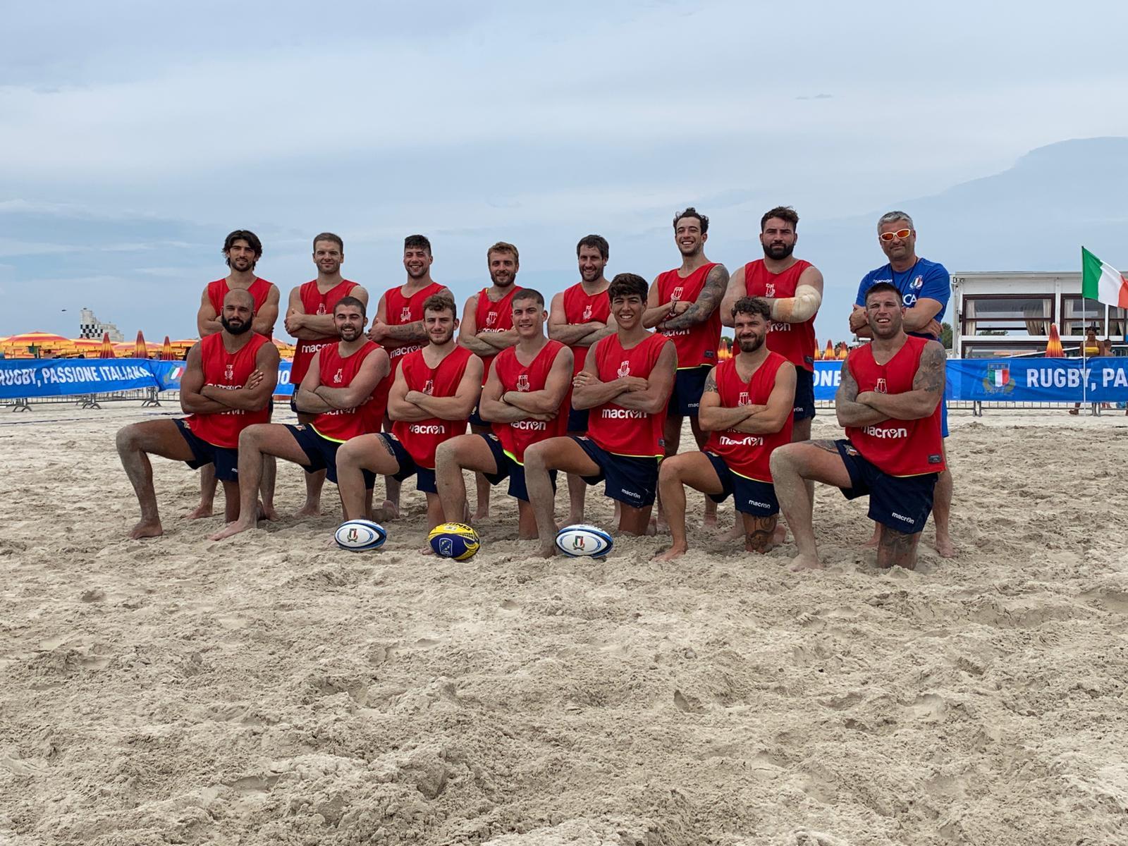 nazionale italiana beach rugby