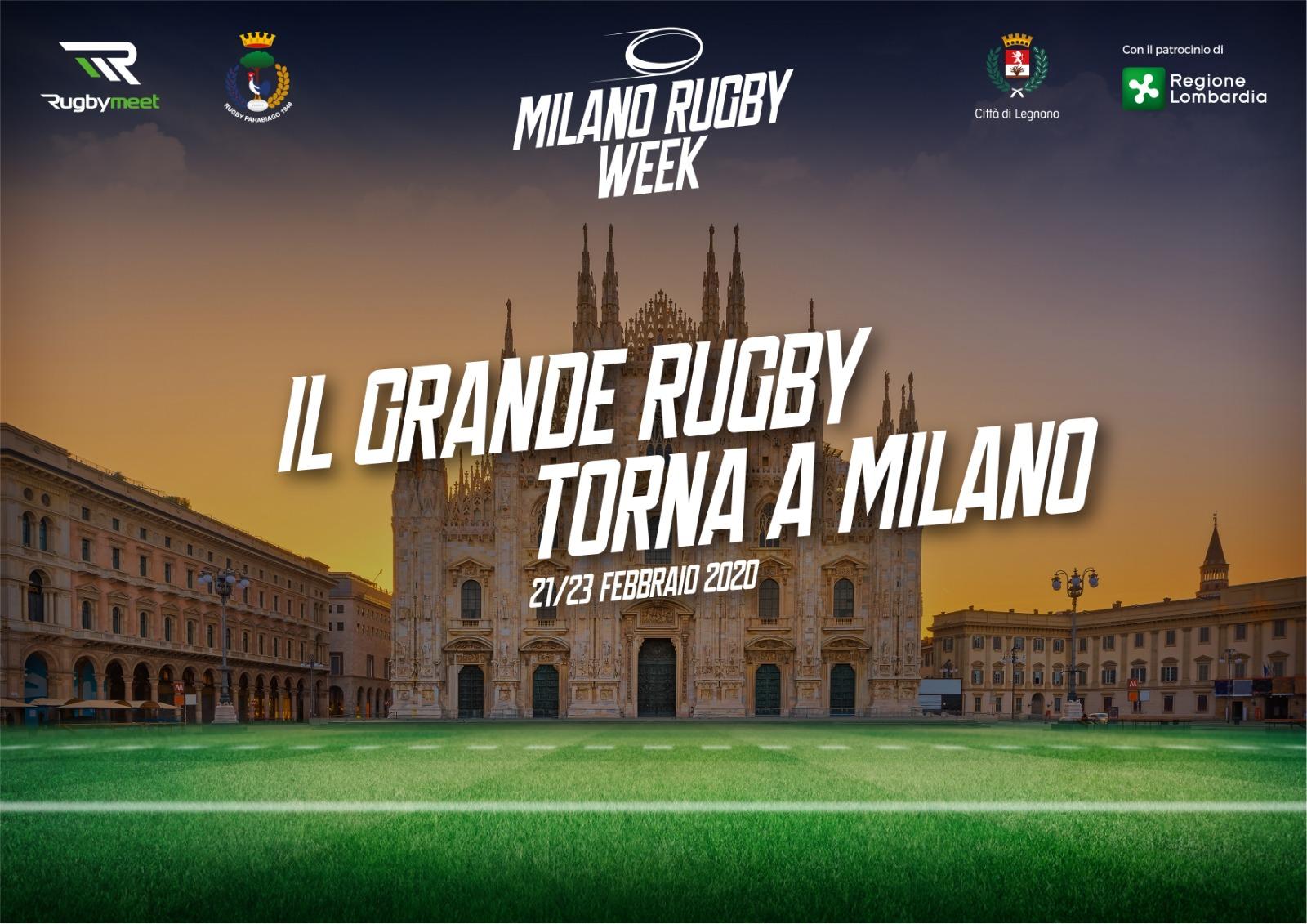 milano rugby week