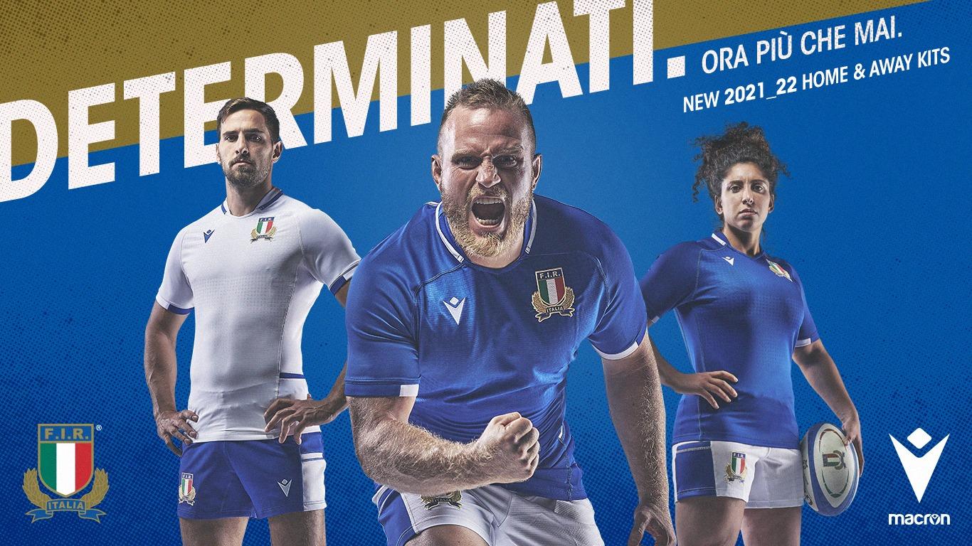 campagna macron maglia italia 2021 22