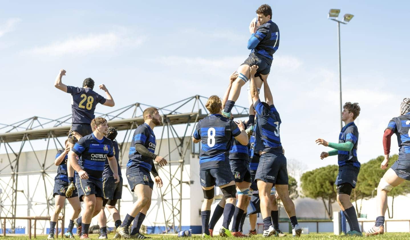 italia u18 allenamento mar19