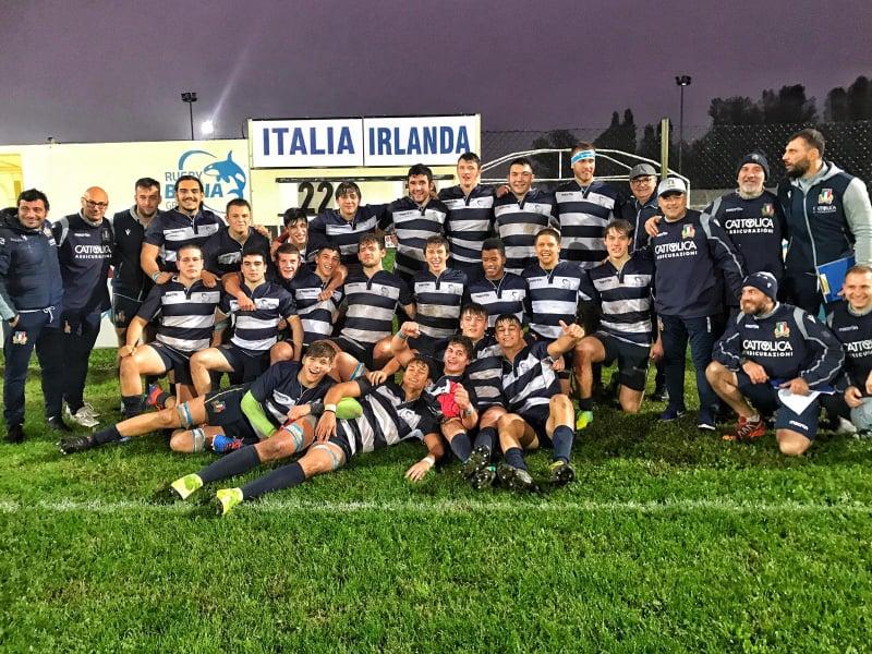 selezione italia u18 esulta novembre 2018
