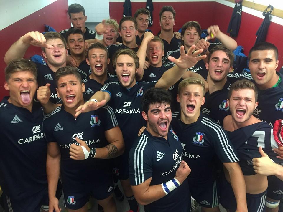 Selezione Italia U18 Esulta