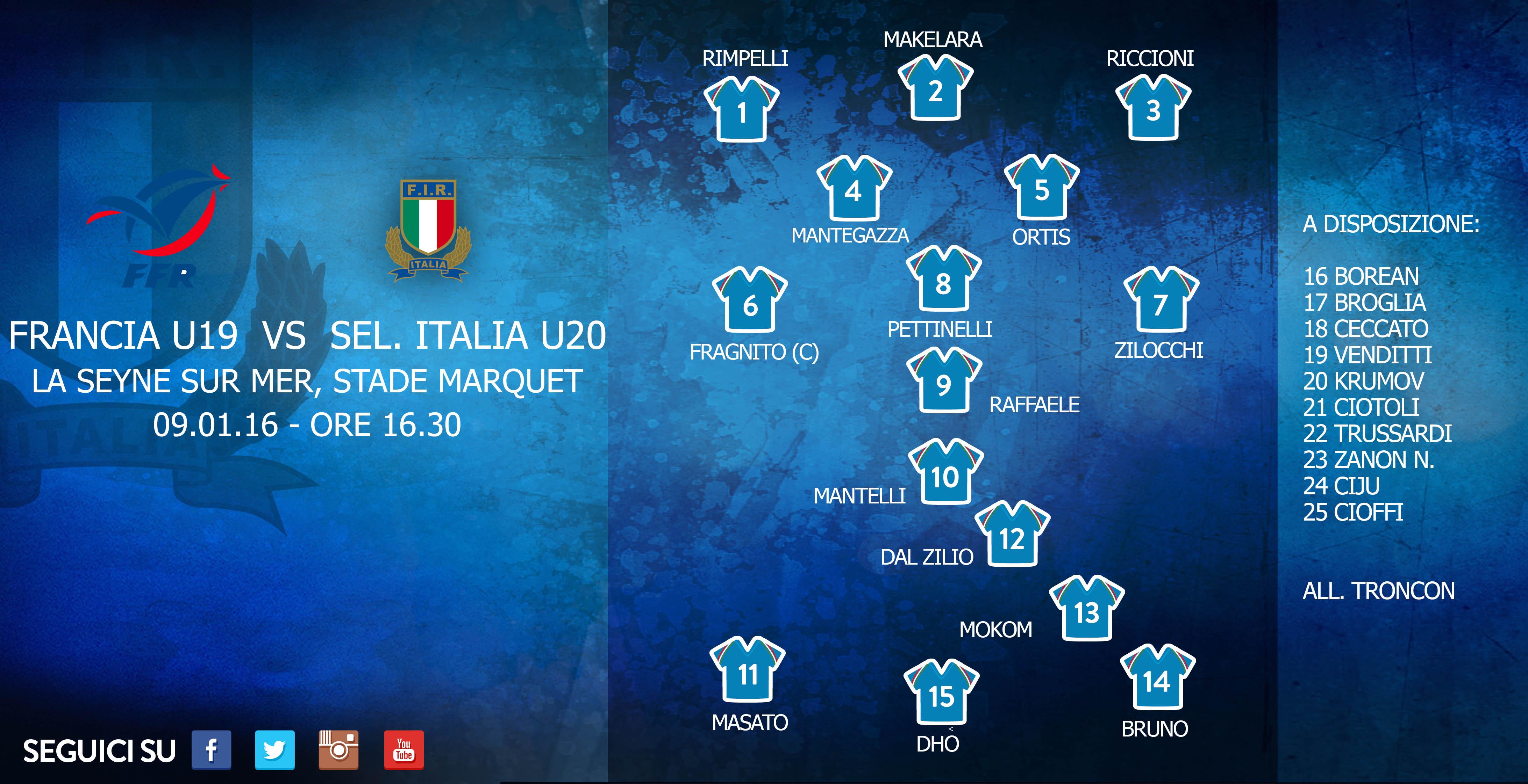 Sel. Italia u20