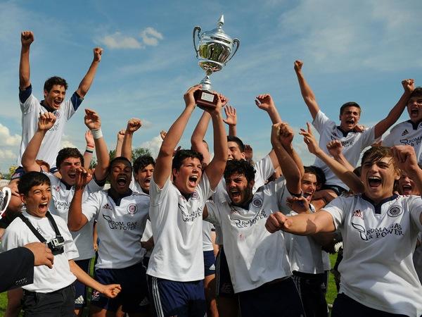 Capitolina alza il Trofeo Lodigiani 2014