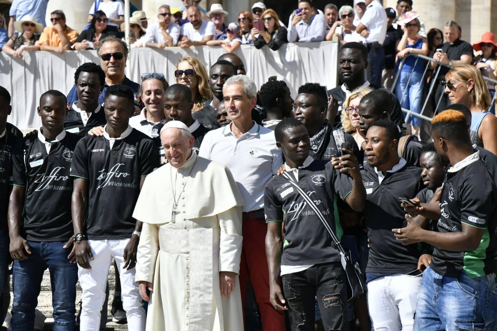 tre rose papa settembre2018